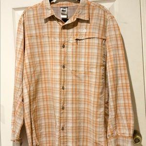 Vintage North Face Men's XL Outdoors Fishing Shirt